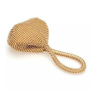 Handbags - Gold purse/clutch